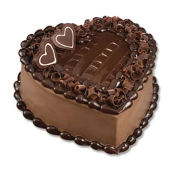 1 Kg Heart Shaped Cake