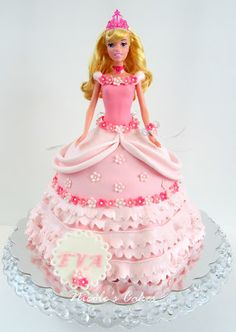 2 Kg chocolate Doll cake in 2 tier