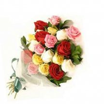 Two Dozen Assorted Color Roses