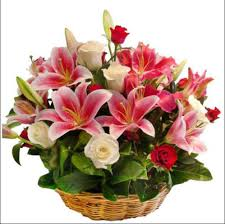 Large Arrangement of Liliums